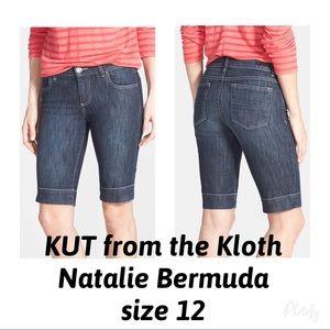 KUT Natalie Bermuda Shorts